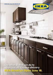 """IKEA Kitchens: """"IKEA: Kitchen Brown"""" Print Ad by Deutsch"""