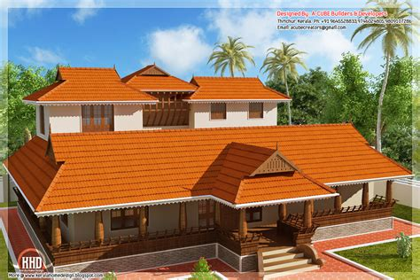 2231 sq feet kerala illam model traditional house kerala home design and floor plans