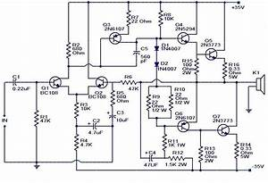 100w Subwoofer Amplifier Circuit