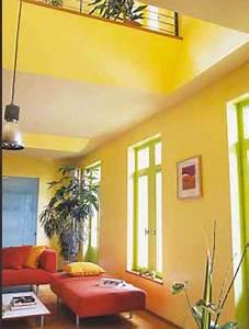 Couleur De Peinture Pour Salon : marier les couleurs de peinture dans salon chambre ~ Melissatoandfro.com Idées de Décoration
