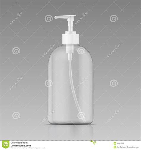 clean liquid soap bottle template royalty  stock