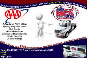MCA Motor Club of America Flyers