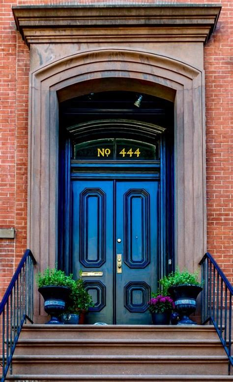 ny brownstone unique doors entrance doors door entryway