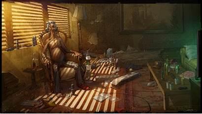 Virtual Cyberpunk Reality Deviantart Concept Addict Wallpapers