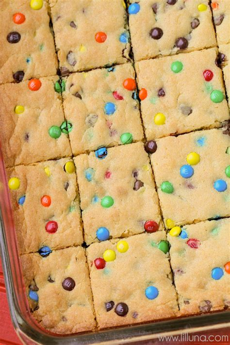 cake mix cookie bars recipe video lil luna