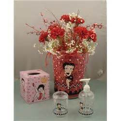 betty boop bathroom accessories flower vase