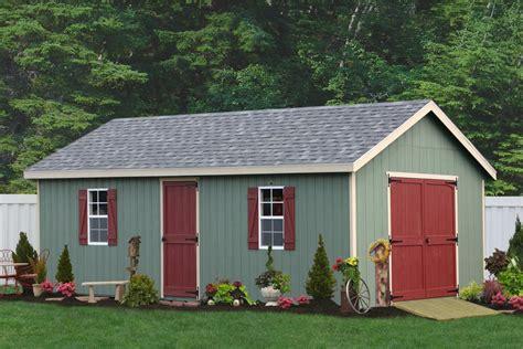 amish built  frame sheds  sale    color choices