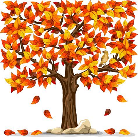 autumn tree vector art ai svg eps vector