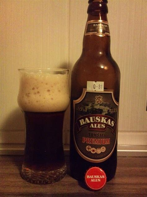 Bauskas Alus - Tumsais Premium 5,5% pullo SOPP 30.7.2009 ...