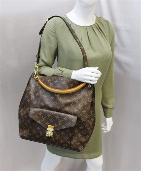 authentic louis vuitton metis hobo monogram shoulder bag  strap