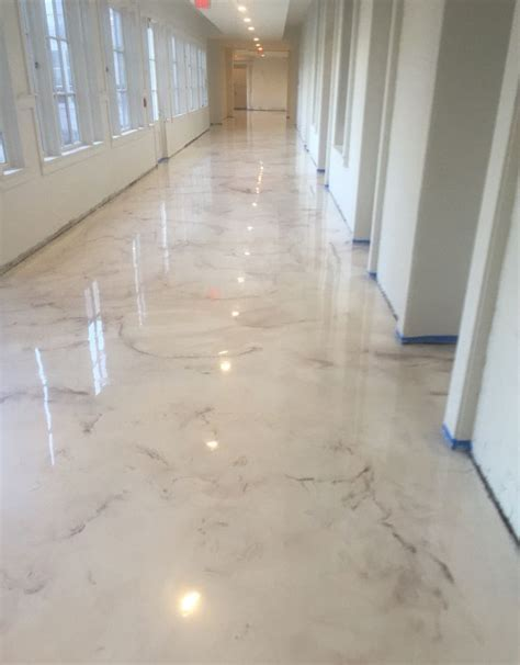 Deco Crete Studios, Pearl Metallic Epoxy Floor, decorative