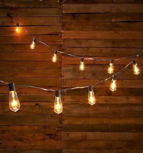 string lights vintage look edison style 10 light bulb string light