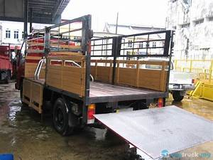 2008 Hicom Perkasa Mtb145 Tail Lift 12 Feet 4 500kg In
