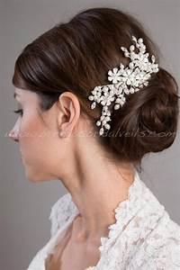 Bridal Hair Comb Rhinestone Wedding Headpiece Bridal