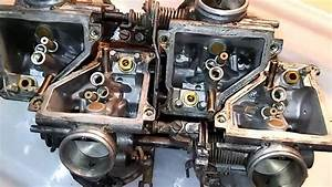 1985 Honda Magna V30 Project 08 - Carbs Disassembled And Cleaning Started