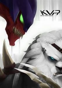 Kha39zix VS Rengar League Of Legends Fan Art Art Of LoL