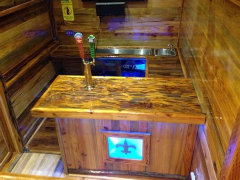 Tiny Home Bar by Builds Portable Tavern Tiny House On A Trailer