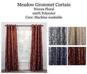 meadow grommet curtain panel www bestwindowtreatments