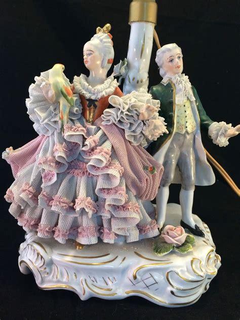 antique porcelain figurine table ls 53 best dresden porcelain ls images on pinterest