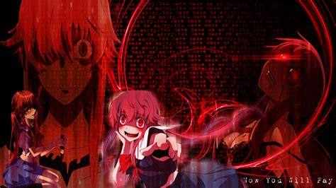 Future Diary Yuno Wallpaper Mirai Nikki Wallpaper Wallpapersafari