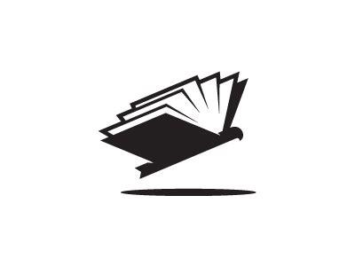 35 book based logo designs inspirationfeed