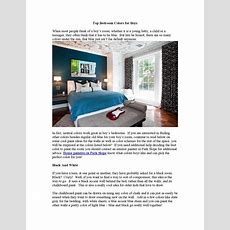 Top Bedroom Colors For Boys By Home Remodeling Trends  Issuu