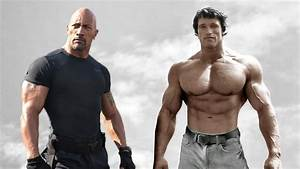 Dwayne 'The Rock' Johnson vs Arnold Schwarzenegger - King ...