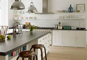 10 ways to work with floating white shelves With kitchen colors with white cabinets with floating taper candle holder