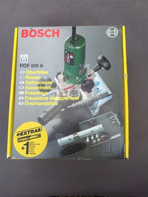 bosch pof 500a router nutool bit set in southton hshire gumtree