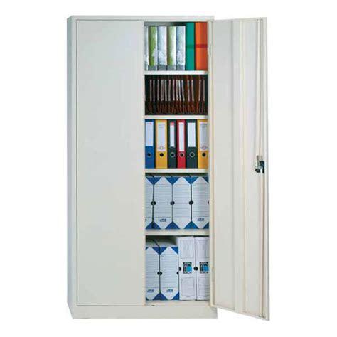 armoire bureau metallique armoire de bureau à portes battantes pour dossiers suspendus