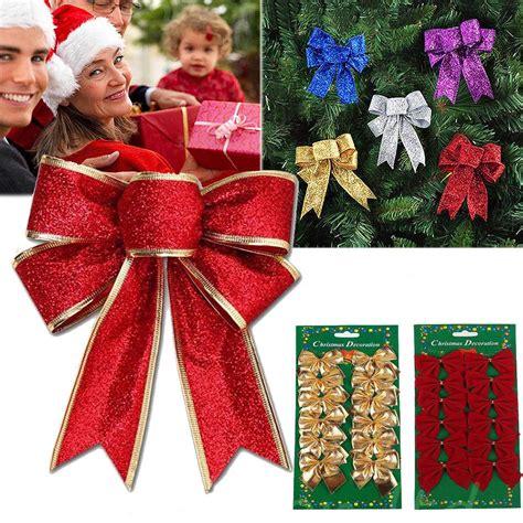 Ornamen Pita untuk Dekorasi Pohon Natal Shopee Indonesia