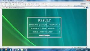 Online Examination Java Project