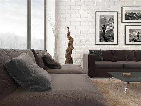 cuisine blanche poser mur en brique décorative à l 39 intérieur simplex