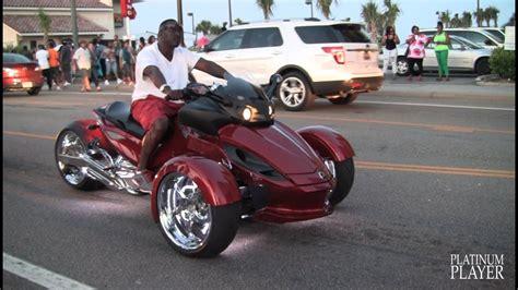 Can-am Spyder Roadster Custom- Myrtle Beach