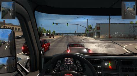 hud mirrors  smaller part euro truck simulator  mods