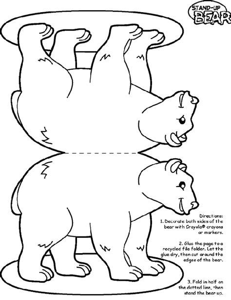 bear coloring page crayolacom