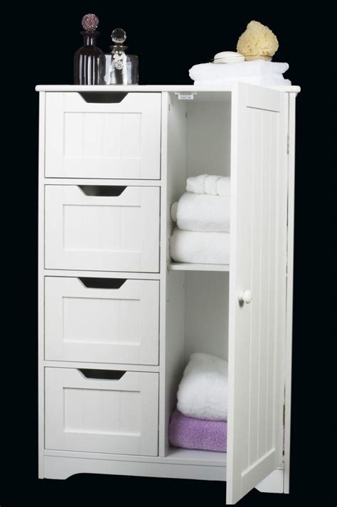 cabinet with drawers and doors four drawer door white wooden storage cabinet bathroom