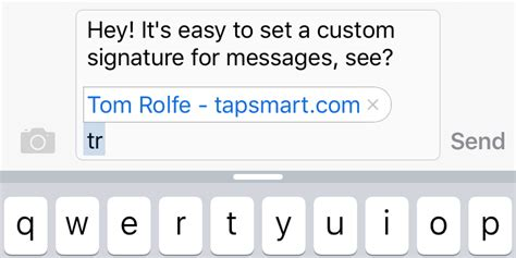 iphone text signature guide how to add a signature to your text messages on