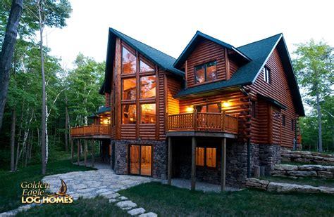 golden eagle log  timber homes log home cabin pictures  lodge al