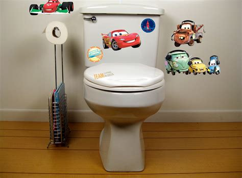 cars 2 bathroom toilet decals baby n toddler