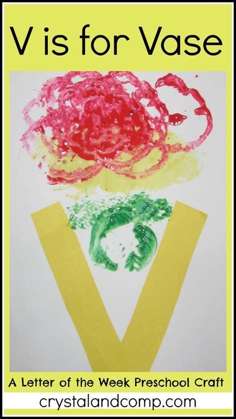 letter of the week preschool craft v is for vase 307 | V is for Vase crystalandcomp