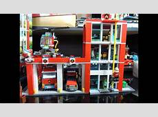 Lego City 2013 Fire Station Review 60004 YouTube