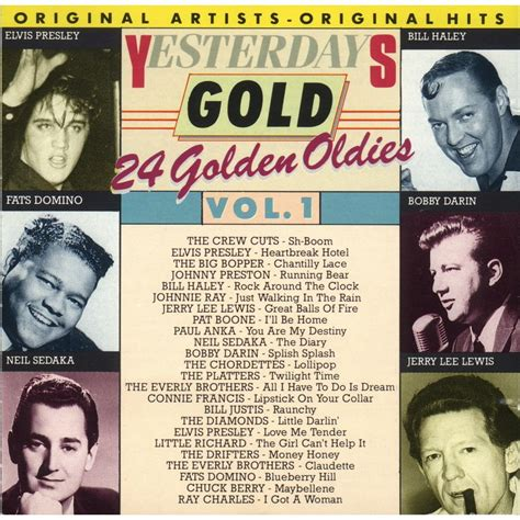 Yesterday's Gold  Vol 1  Mp3 Buy, Full Tracklist