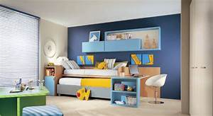 Cool, And, Ergonomic, Bedroom, Ideas, For, Two, Children, By, Dearkids