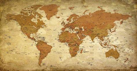 Papier Peint Carte Du Monde Gold by Carte Du Monde Voyager 4 Mappemonde Orignal Map