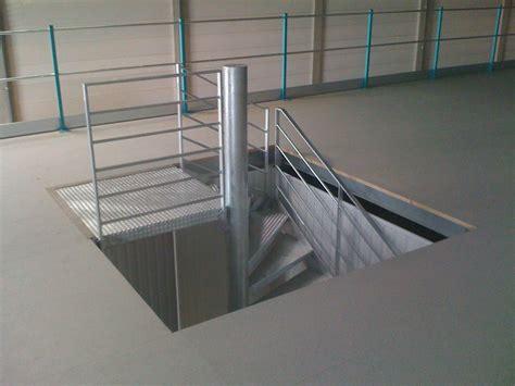 escalier quart tournant avec palier intermediaire escalier 224 palier escaliers quart tournant m 233 tallique