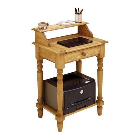 petit bureau informatique meuble naturel bois interior 39 s meubles en bois massif naturel