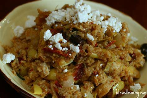 Cauliflower Rice (mediterranean Style)
