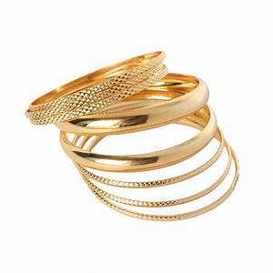 Hot Sale Luxury Ladies Brand Gold color Filled Multilayer ...