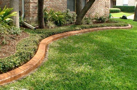 landscaping concrete landscape concrete edging installation bistrodre porch and landscape ideas